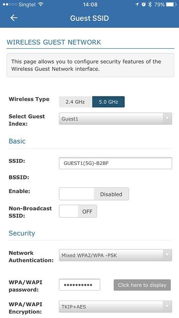 AIR-706P - iOS App - Guest Network