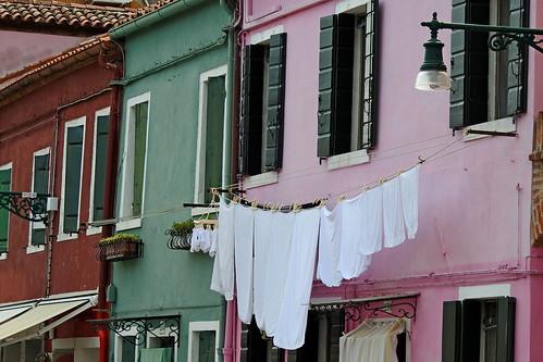 Burano (Venezia) die wunderschöne bunte Insel