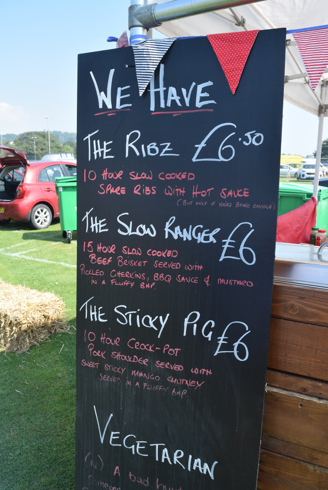 Just Ribz Menu at Love Hythe Food Festival | www.rachelphipps.com @rachelphipps