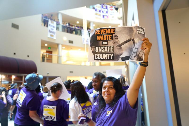 Riverside County ULP Strike Day 2