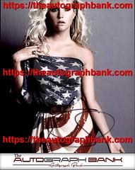 Kesha authentic signed memorabilia