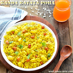 Kanda Poha Recipe Maharashtrian Style | Beaten rice with onion recipe