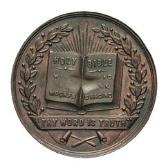 Band of Hope Temperance Medal reverse