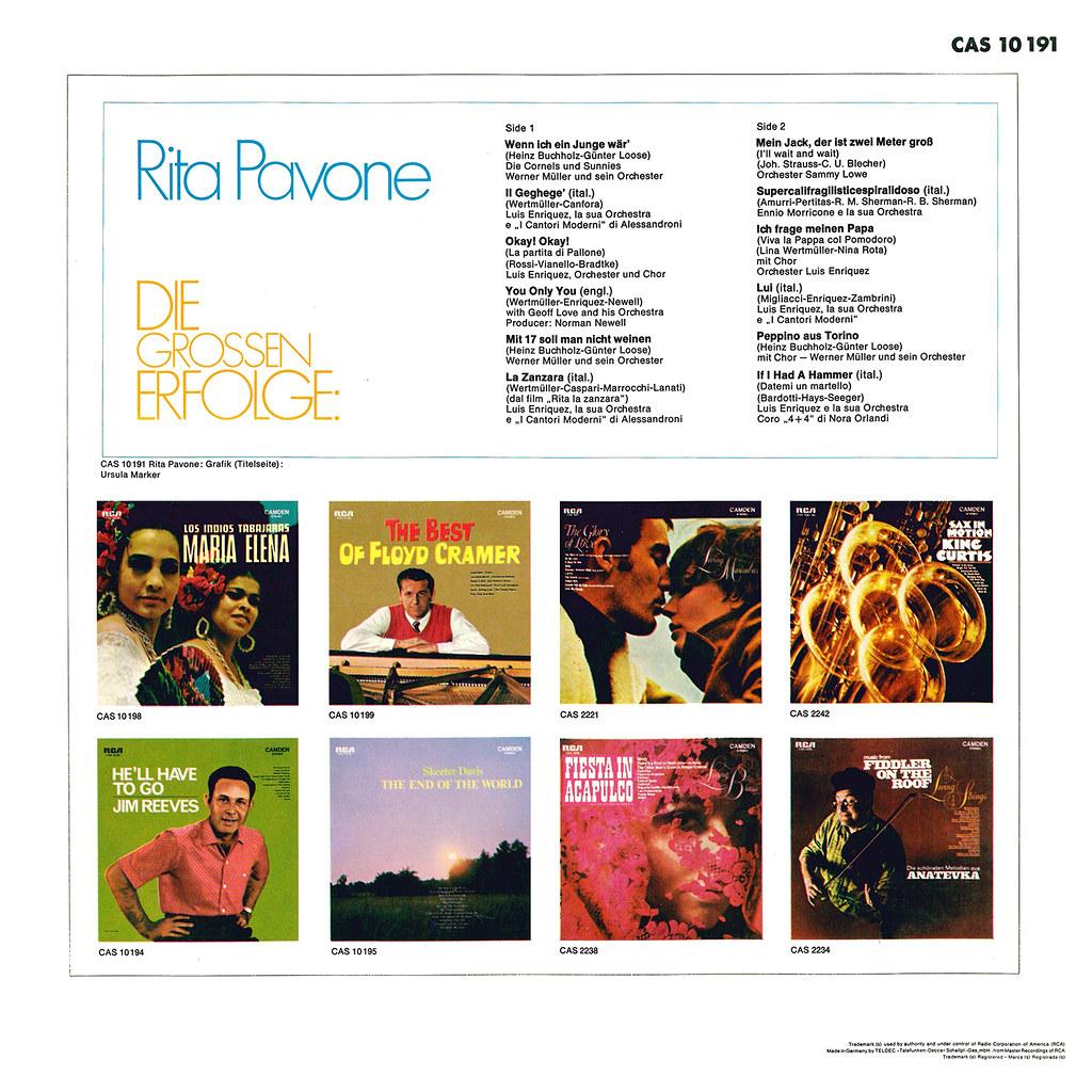 Rita Pavone - Die Grossen Erfolge
