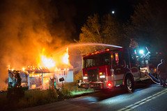 Structure Fire Northfield CT 9/07/17