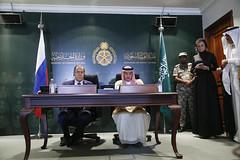 С.Лавров и А.аль-Джубейр   Sergey Lavrov & Adel bin Ahmed Al-Jubeir