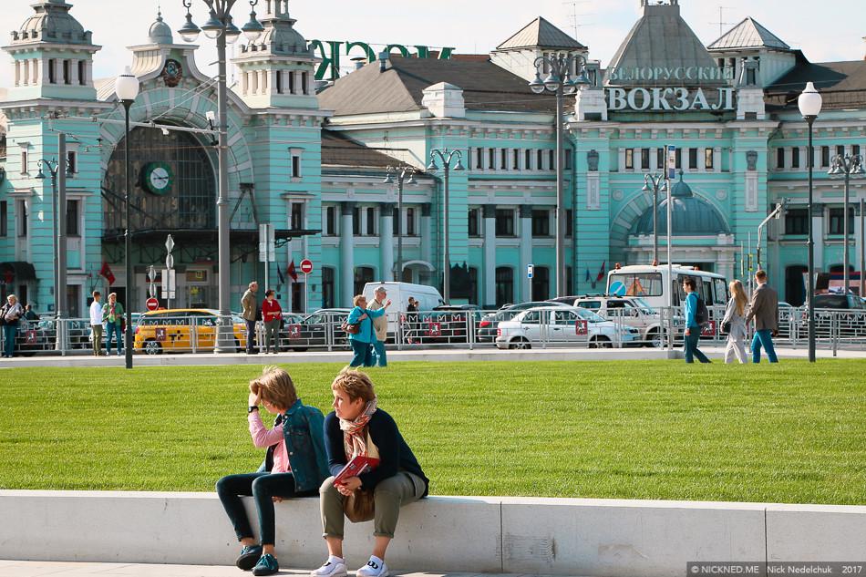 Площадь у Белорусского вокзала просто не узнать! IMG_4224