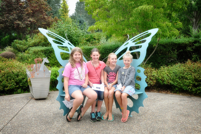 Oregon Garden Butterfly Girls @ Mt. Hope Chronicles