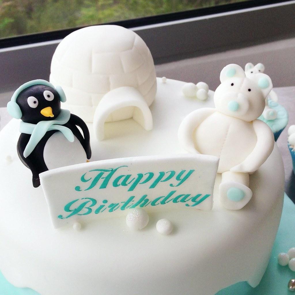 Penguin Birthday Cake Patricia Creative Cakes