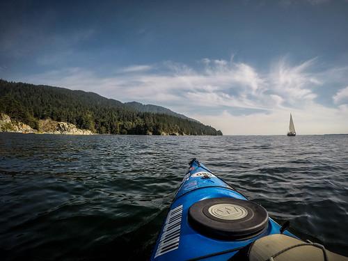 Kayaking Bellingham Bay-27