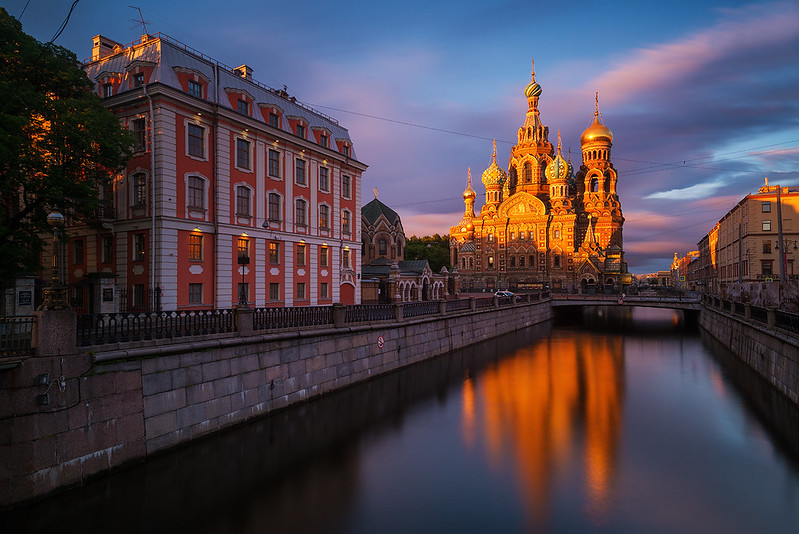 Spilled Luck | Church on Spilled Blood, St. Petersburg, Russia