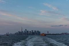 staten island ferry mit skyline