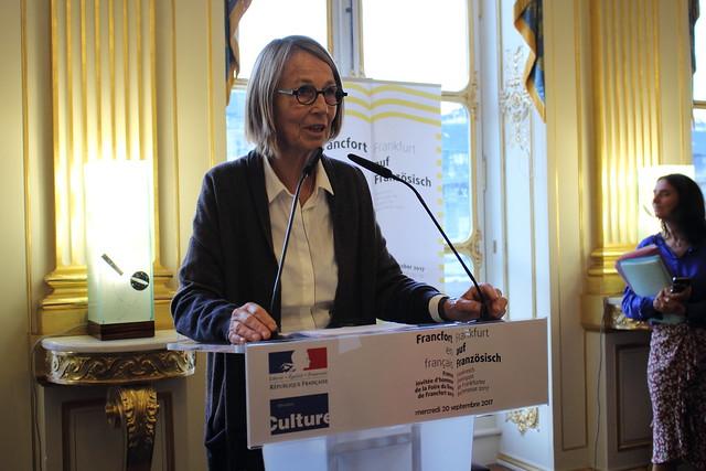 La France à Francfort 2017 - Françoise Nyssen