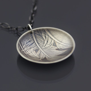 Three Feathers Necklace