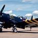 Vought F4U-7 Corsair N1337A Alconbury 14-8-82