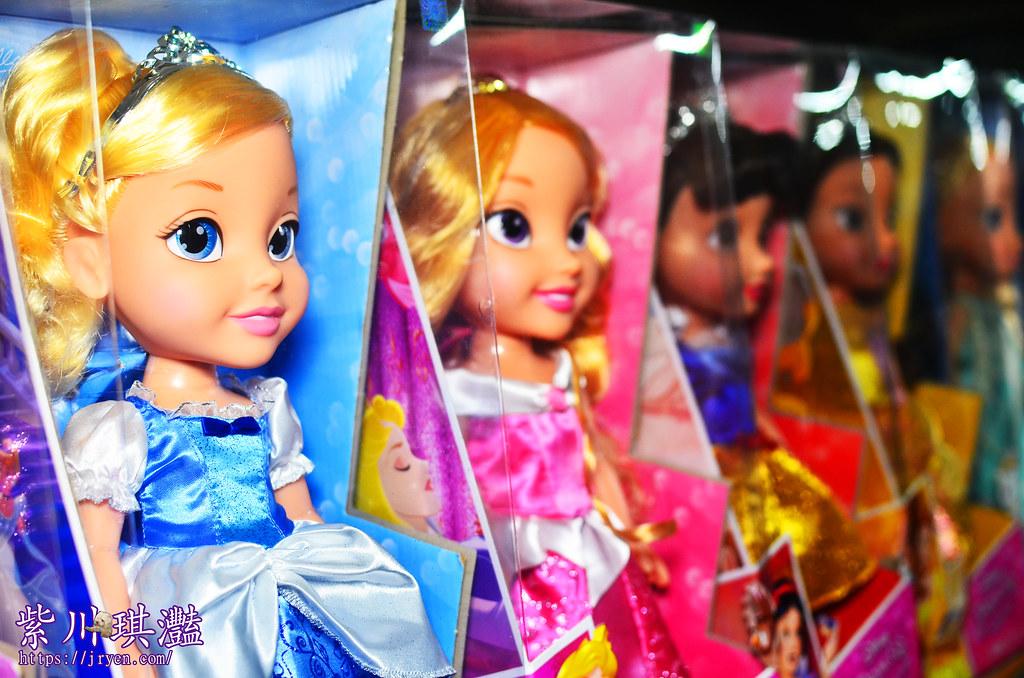 迪士尼公主娃娃-極光愛莎