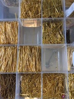 Getting organized: headpins