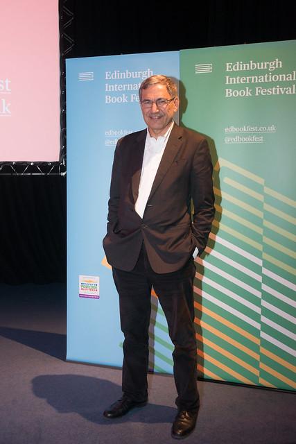 Orhan Pamuk event, Edinburgh International Conference Centre, 17 September 2017