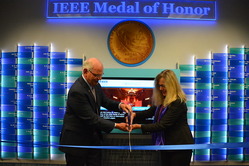 IEEE Medal of Honor Wall of Honor - Unveiling