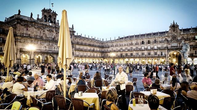 Plaza Major, Salamanca, Spain