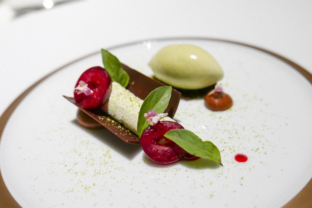Santarem Chocolate, Thai Basil, Cardamom Leaf