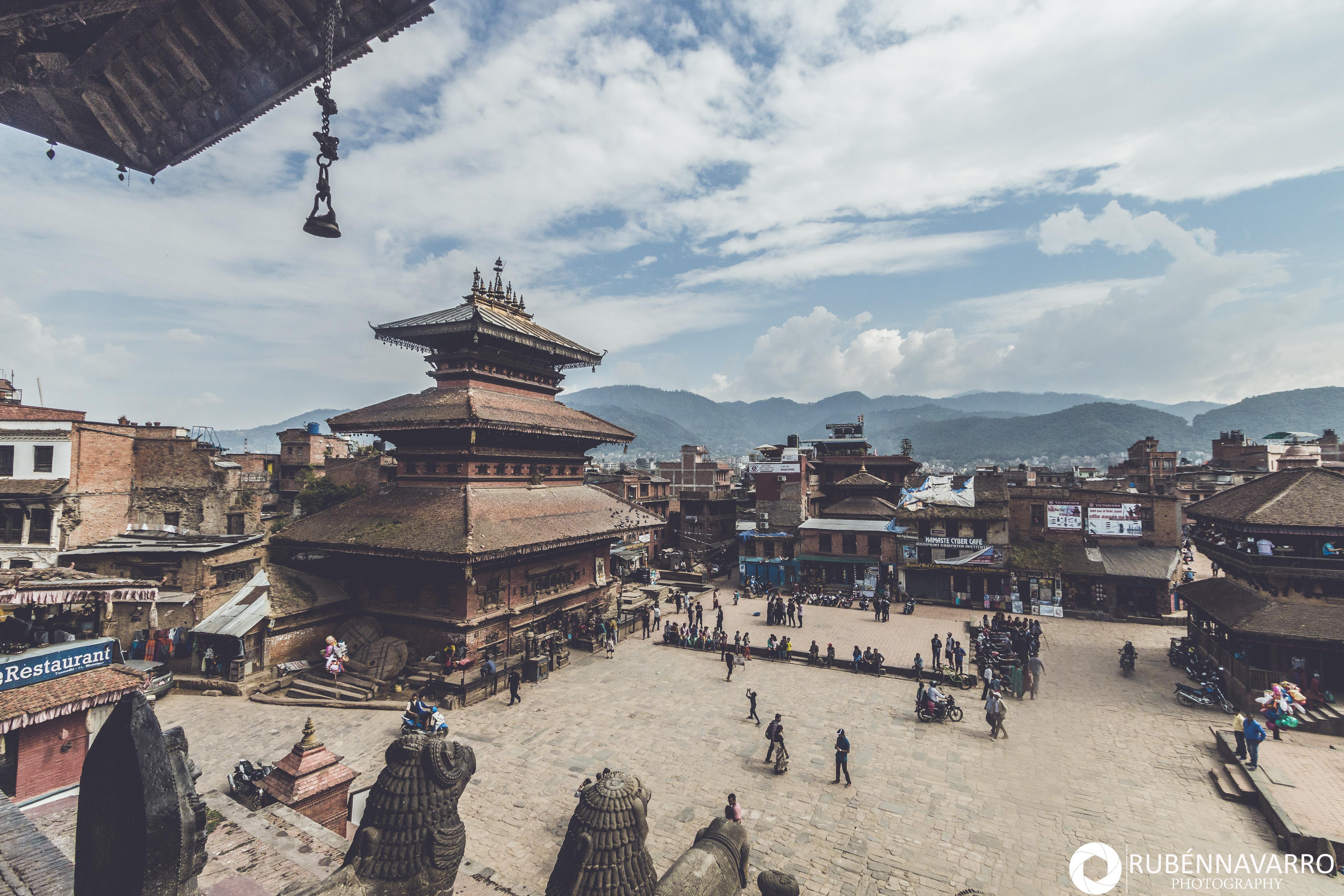 qué ver en Bhaktapur Plaza Taumadhi