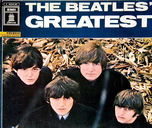 "Beatles The Beatles' GREATEST Germany 12"" Vinyl LP"