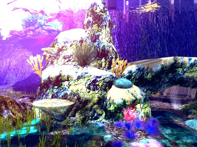 The Coral Garden of Amarantha -Underwater Reef