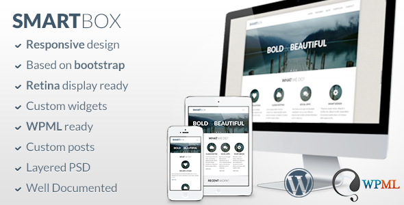 SmartBox v1.5.11 – Responsive WordPress Bootstrap Theme