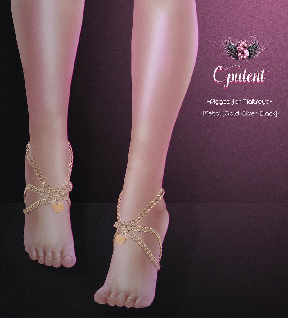 .::Supernatural::. Opulent Anklet @ROMP - SecondLifeHub.com