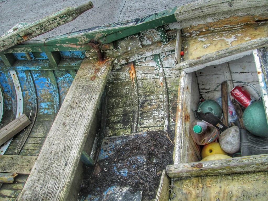 Aran Islands Inis Mor Fishing Boat