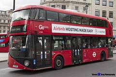 Wrightbus NRM NBFL - LTZ 1303 - LT303 - Dulwich Library 12 - Go Ahead London - London 2017 - Steven Gray - IMG_1013