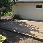 Salt Finish Concrete Patio In Davis