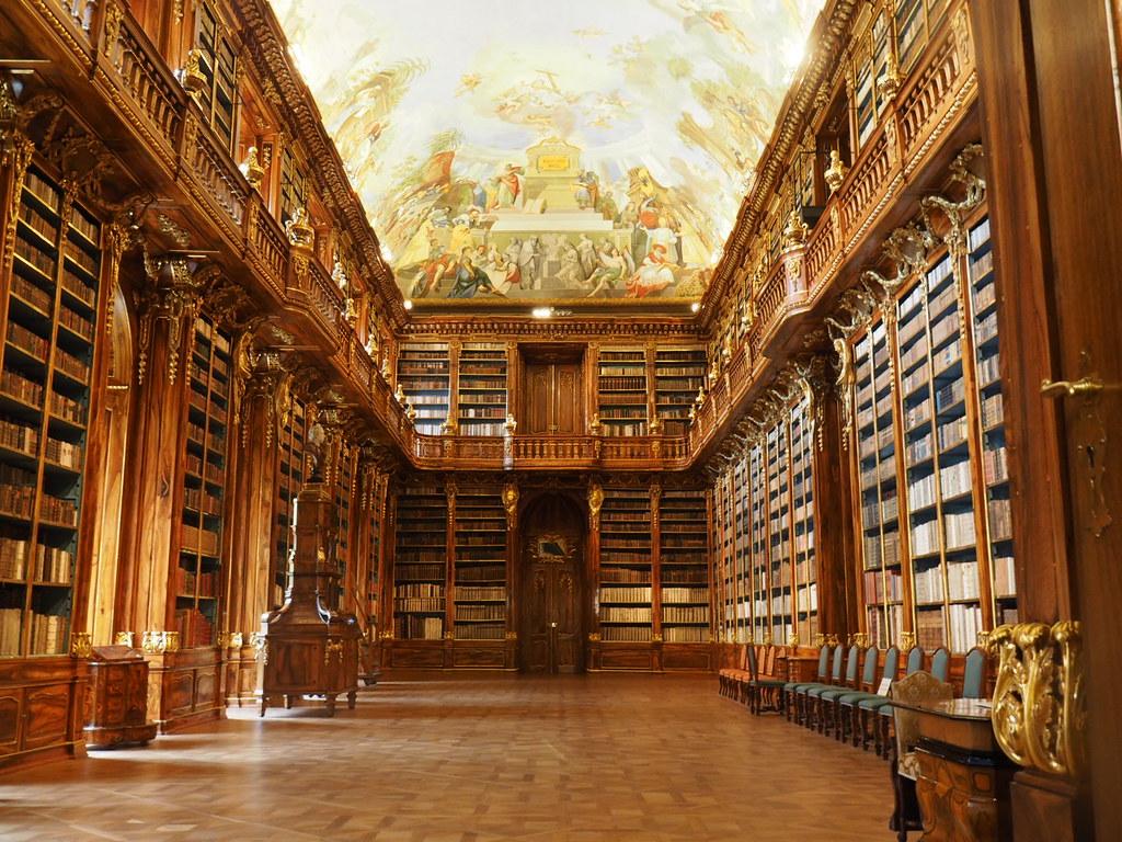 ストラホフ修道院図書室