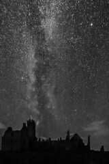 Black & White Milky Way