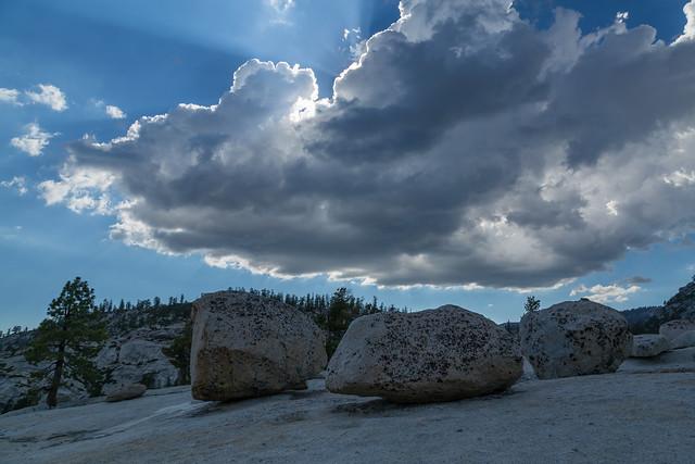 Yosemite Light Above the Boulders