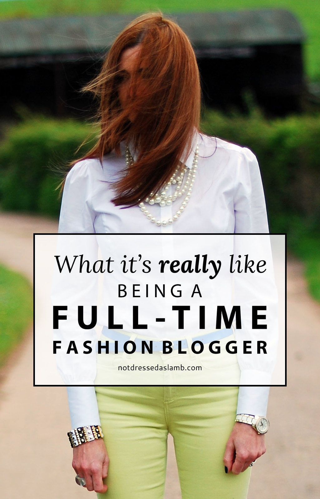 What It's REALLY Like Being a Full Time Fashion Blogger (Who's Not a Super Blogger) | Not Dressed As Lamb