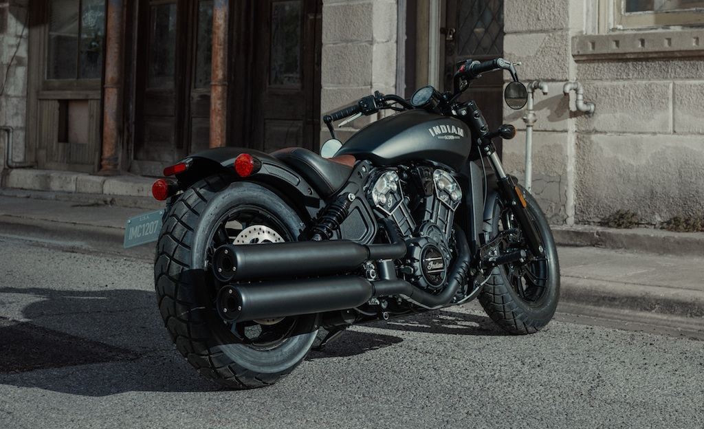 The all-new Indian® Scout® Bobber (2)