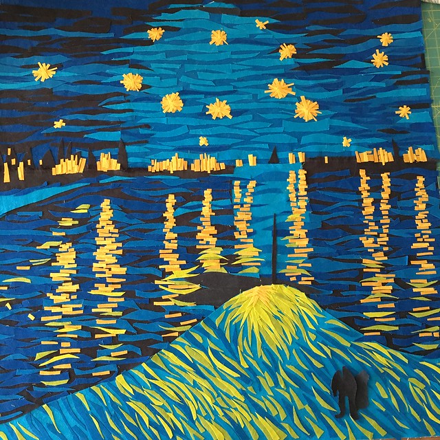 Van Gogh: I need starlight
