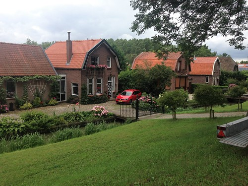 Dutch country houses near Rhoon