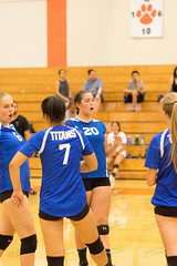 Nicole Doerges (6), Hanna Wang (7), Erin Hill (20), Stevie Perry (8)