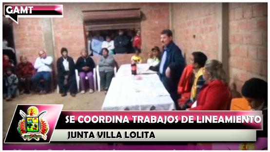 se-coordina-trabajos-de-lineamiento-con-junta-villa-lolita