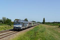 DSC_4094_SNCF BB 67523+167441+IC 3856_ Saint -German-de Lusignan_7-7-2017 - Photo of Réaux