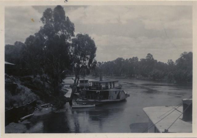 77. Paddle Boat, Mildura, Victoria, 1948
