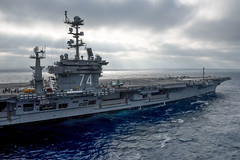 USS John C. Stennis (CVN 74) operates in the Pacific Ocean, Sept. 6. (U.S. Navy/MCSN Joseph Miller)