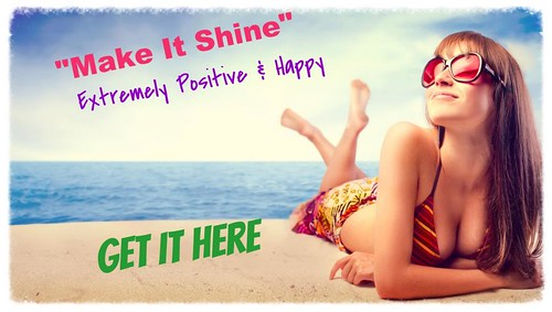 Make it shine promo girl
