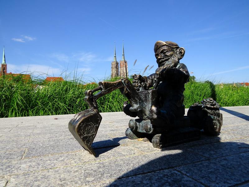 Los enanos de Wroclaw