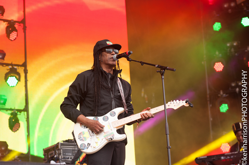 06th August, 2017. Junior Marvin's Wailers at Rewind North, Macclesfield, UK