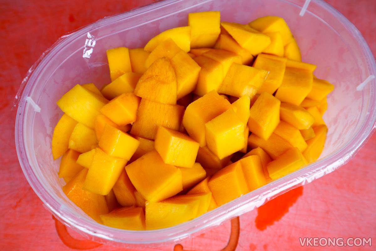 Mango Float Royale Melaka Mango Cubes