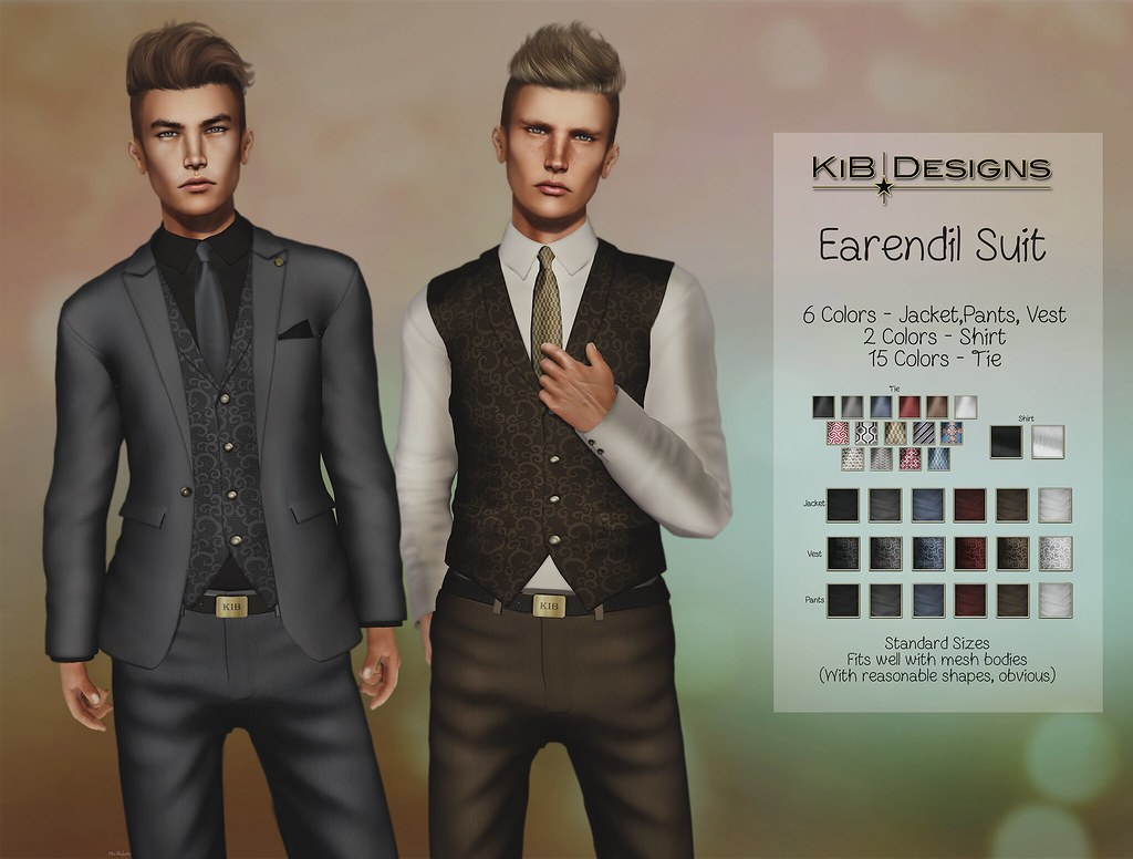 KiB Designs - Earendil Suit @TMZ - SecondLifeHub.com